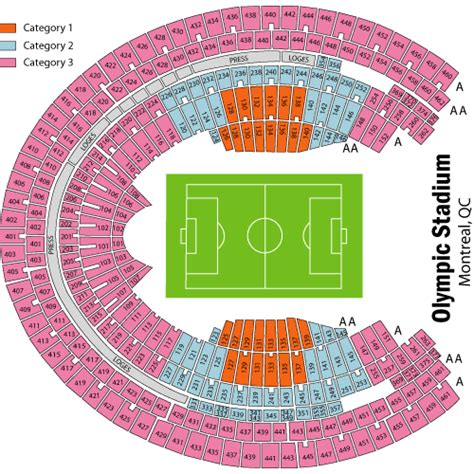 olympic stadium montreal seating montreal alouettes vs hamilton tigercats november 13