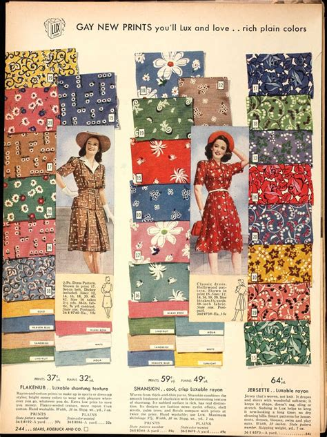 design pattern catalog 24 best images about vintage sears catalogs on pinterest