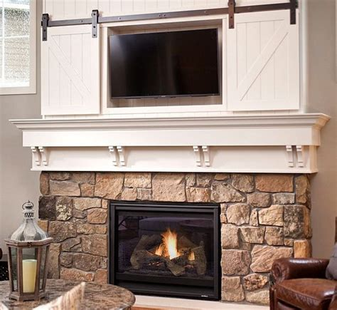 mini fireplace screen mini barn door sliding doors fireplace way