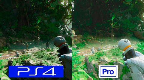 Ps4 Robinson The Journey robinson the journey ps4 vs ps4 pro comparison with patch 1 02