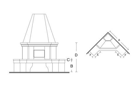 camino dimensioni caminetti dimensioni un caminetto a legna con canna