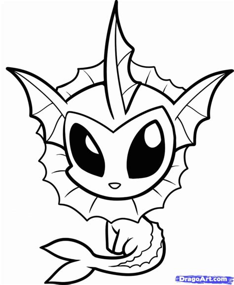 vaporeon coloring pages coloring pages