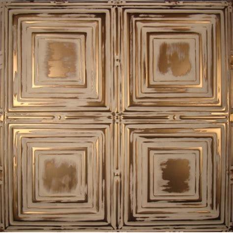 Copper Backsplash Tiles For Kitchen by Traditional Bronze Color Tin Metal Ceiling Tile