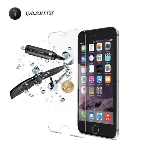 Tempered Glass Iphone 6 Oren Original Promo aliexpress buy g d smith original tempered glass screen protector for iphone 6 6s safety