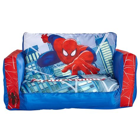 spiderman flip sofa b m spider man flip out sofa children s furniture