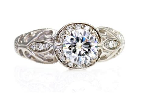 Handmade Rings Etsy - 25 heavenly halo engagement rings
