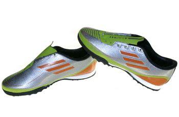 Tas Sepatu Olah Raga Hijau adidas f50 bentol silver hijau coklat graha sepatu olah raga
