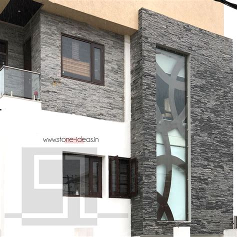 house front exterior featuring  stunning grey