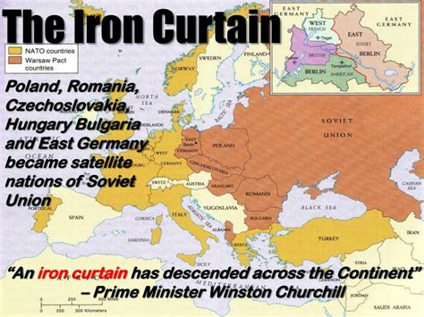 a peep under the iron curtain ppt the cold war begins powerpoint presentation id 2643246