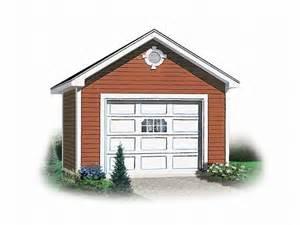 Single Car Garage Plans by One Car Garage Plans Detached 1 Car Garage Plan 028g