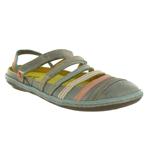multi coloured flat shoes kio w684 flats multi coloured grey