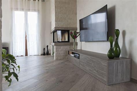 mobili soggiorno su misura villetta moderna arredata con mobili realizzati su misura