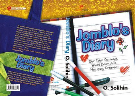 Buku Merit Yuk buku terbaruku jomblo s diary segera terbit o solihin