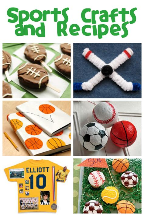 sports crafts for sports crafts recipes family crafts