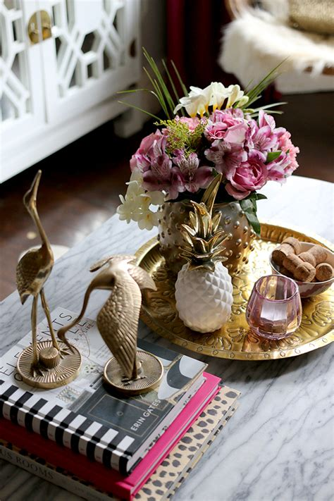 coffee table flower decorations my formula for a perfect coffee table vignette swoon worthy