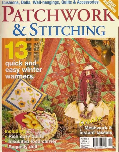 Patchwork And Stitching Magazine - patchwork stitching 13 joelma patch picasa web albums