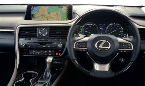 lexus rx wins place on best interiors list lexus