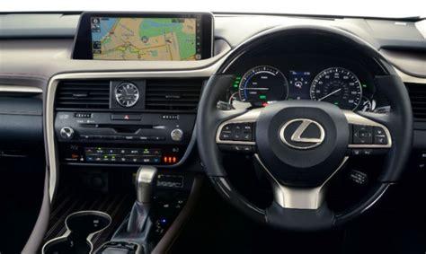 lexus rx black interior lexus rx wins place on best interiors list lexus
