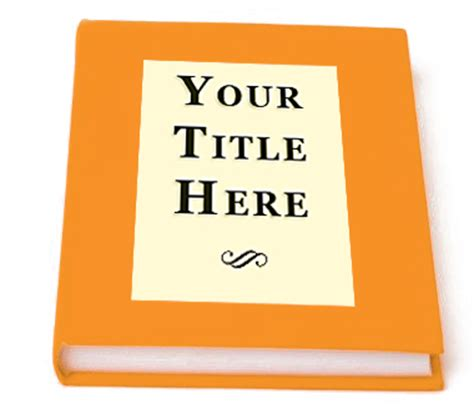 Your Is A Book for the of writing how to determine your book title