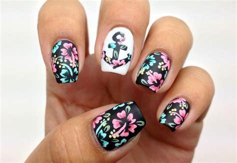 imagenes de uñas rosadas 40 incre 237 bles dise 241 os en blanco y negro para pintar tus u 241 as