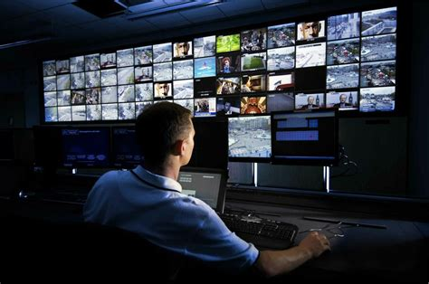 Monitor Cctv security notification system