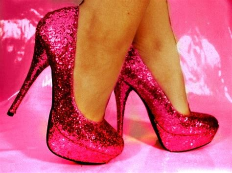 glitter high heels on heels shoes and glitter