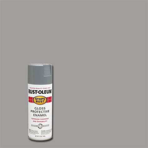 rust oleum stops rust 12 oz protective enamel tide gloss spray paint of 6 248631