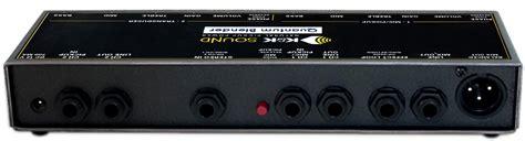 Blender Quantum k k sound quantum blender dual channel guitar pre eq
