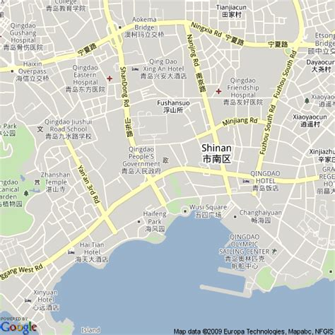map of qingdao map of qingdao china hotels accommodation