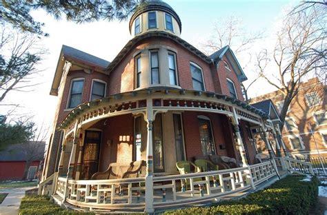 wraparound porch victorian with pretty wraparound porch in indiana is all