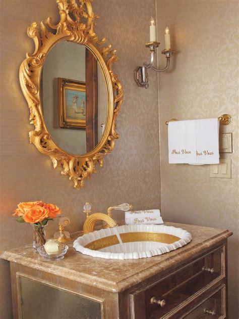 gold bathrooms gold plated bathroom hgtv