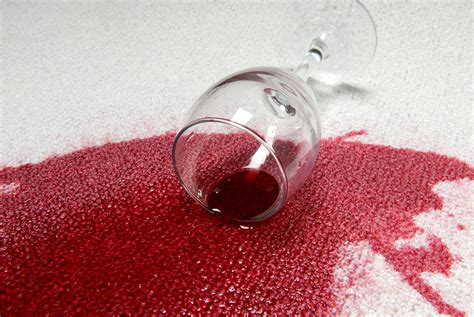Wine Stain On by How To Remove Difficult Stain When Doing House Cleaning