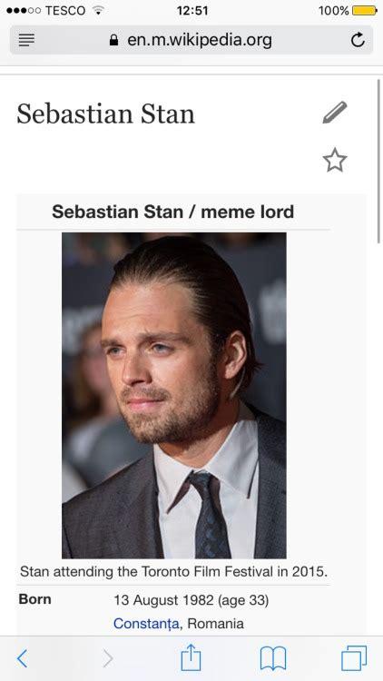 Sebastian Meme - lauren xix sebastian meme lord stan