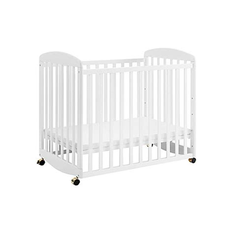 Davinci Alpha Mini Rocking Crib In White Buybuy Baby Davinci Mini Rocking Crib