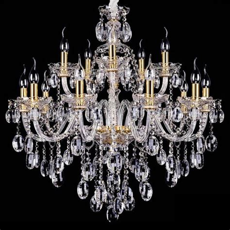 Chandeliers Wholesale wholesale free shipping 15 arms large chandelier l lustre home with 100 k9 p jpg