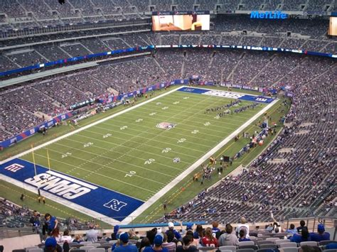 metlife stadium section 149 giants jets metlife stadium section 321 rateyourseats com