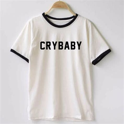 baby shirts popular cry baby t shirt buy cheap cry baby t shirt lots