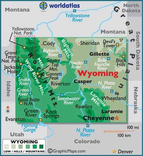 map of united states showing yellowstone national park best 25 wyoming map ideas on wyoming cities