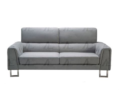 Gray Microfiber Sectional Sofa Gray Microfiber Sofa Ae369 Fabric Sofas