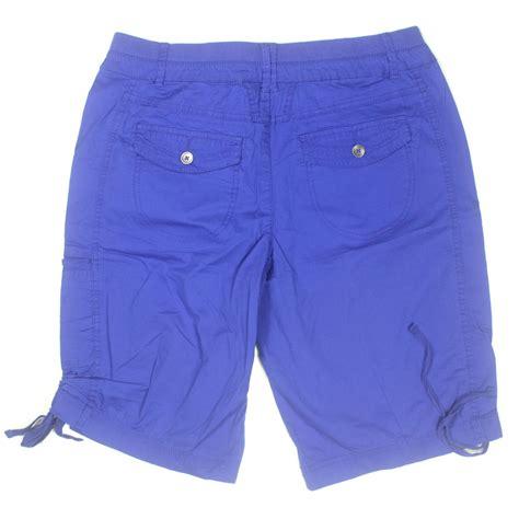 knit waist shorts khakis co womens stretch knit waist bermuda shorts 6