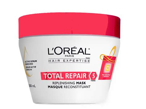 Loreal Hair Mask Total Repair 200gr hair mask loreal total repair 5 hair masque review l oreal total repair 5 hair masque