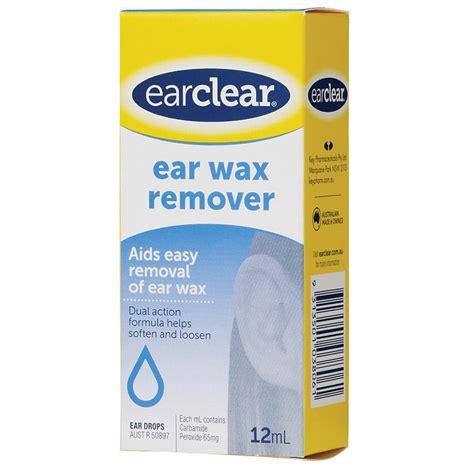 ear drops buy ear clear ear drops for wax removal 12ml at chemist warehouse 174