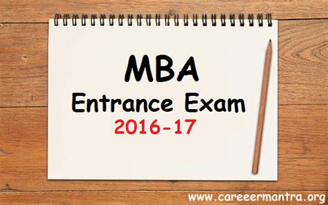 Mba Cet Eligibility Criteria 2017 by Careermantra National State Level Mba Entrance 2016