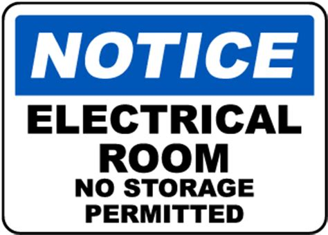 electrical room safety electrical room signs electrical room safety signs