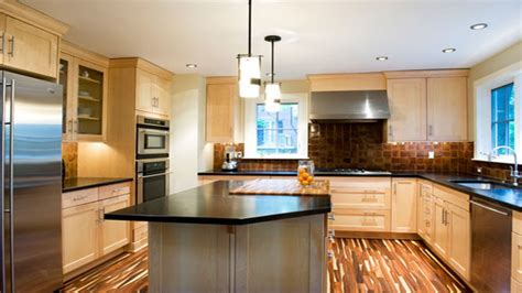 light maple kitchen cabinets contemporary kitchen flooring light maple kitchen