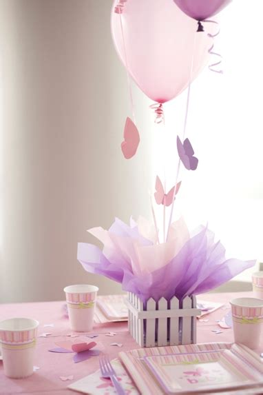 City Butterfly Baby Shower Decorations by S Baby Tableware Carters Butterfly Baby