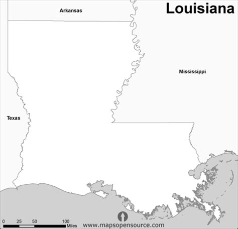 louisiana map black and white free louisiana outline map black and white black and