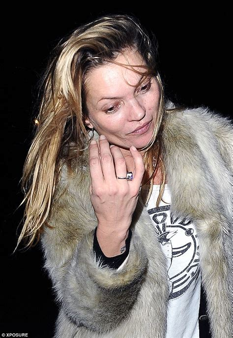 Kate Moss Arrives Home To Continue 34 Hour Marathon Birthday by Kate Moss Emerges From House With Nikolai