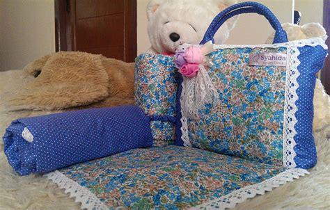 Mukena Bunga Katun Biru jual mukena syahida katun jepang cantik lucu keren bagus