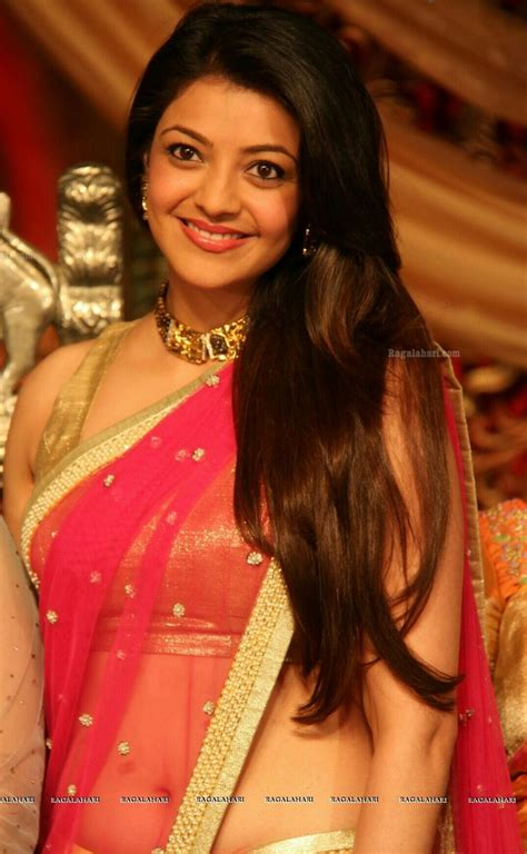 actress kajal in bad dress in saree breast 17 best images about kajal aggarwal on pinterest